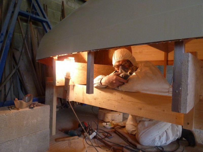 With ilur construction amateur
